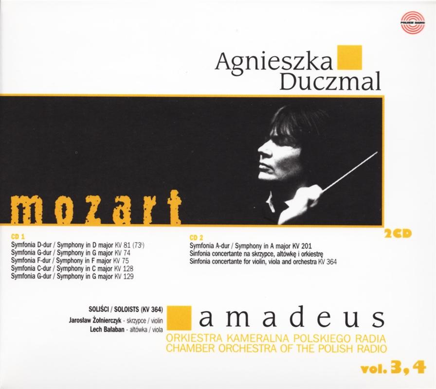 Agnieszka Duczmal Amadeus vol 3 (2004)