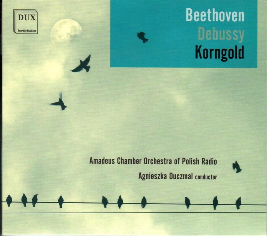 Beethoven, Debussy, Korngold (2018)