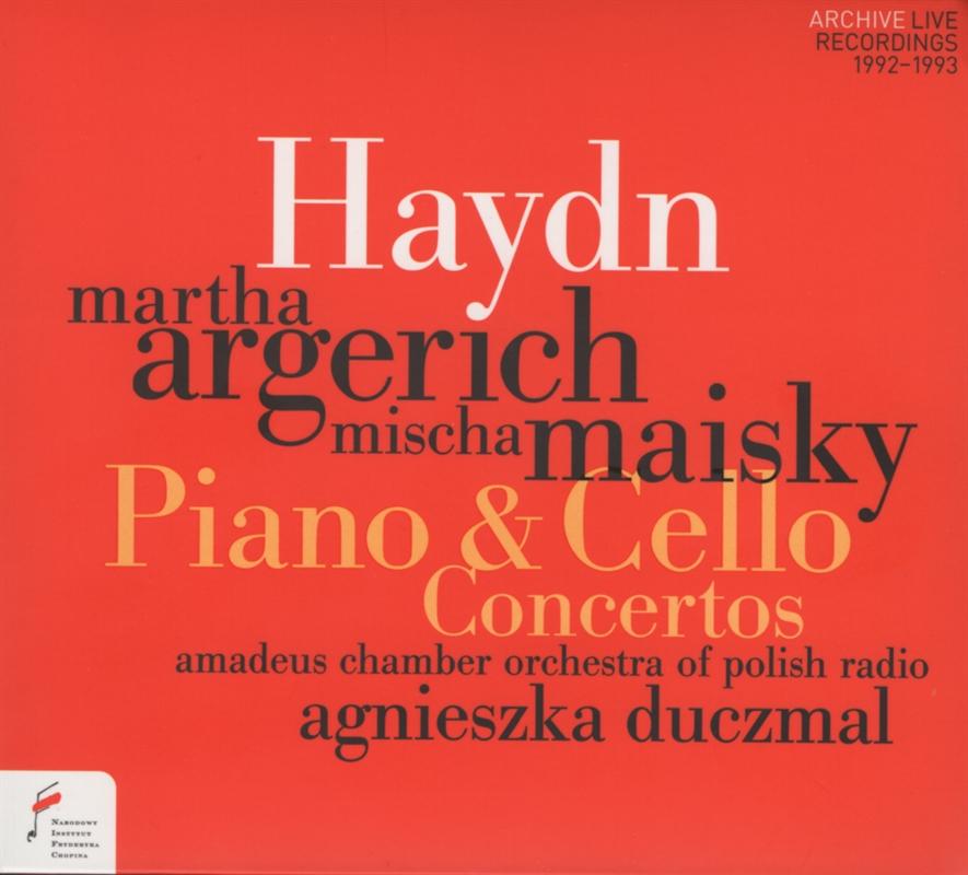 Martha Argerich, Mischa Maisky, Amadeus - Haydn Concertos (2018)