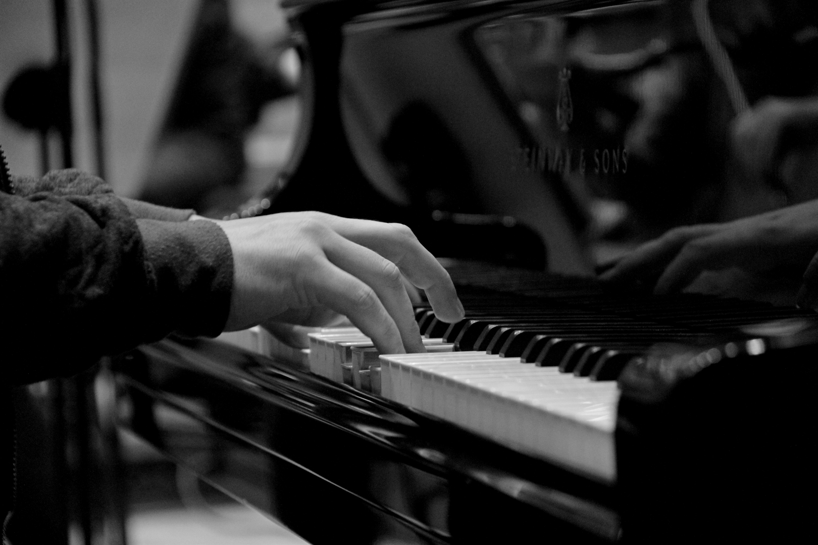 11.10.2020 - Muzyka w pandemii - próba (fot. Wojciech Kabata)